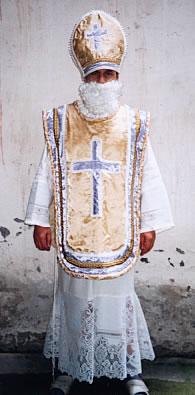 Mikuláš - kostým na prodej
